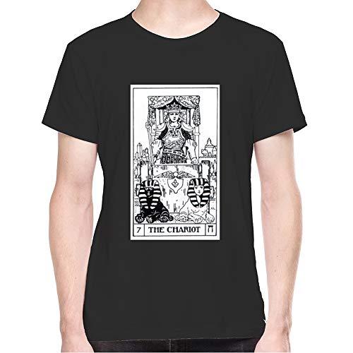 Tarot Card 7 - The Chariot Men's T-Shirt - X-Large