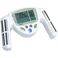 OMRON BF306 - Medidor de grasa, color blanco