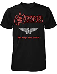 Saxon The Eagle Has Landed (Red Logo) T-Shirt