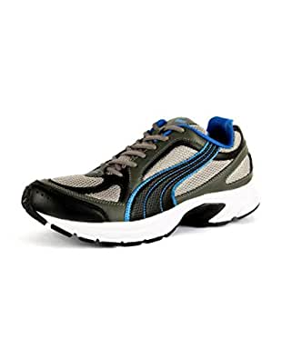 Puma Men's Grey Synthetic Running Shoes (6 UK)