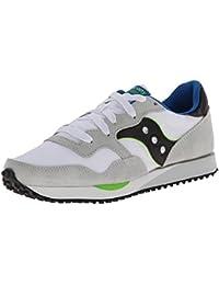 Saucony Originals Zapatillas DXN Trainer W Blanco/Morado EU 38.5 (US 7.5) xBt0Yc2ro