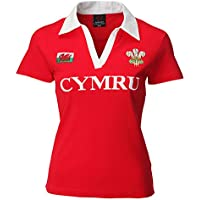 Wales Welsh Short Sleeve Ladies Rugby Shirt uk 22/24