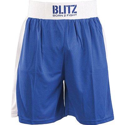 Blitz Boxing - Pantalones de boxeo para hombre, color azul, talla M