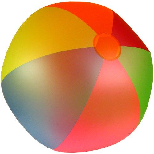 Jumbo Wasserball 85 cm Durchmesser für Strand und Garten, TÜV Geprüft: Wasser Ball Strandball Wasserbälle riesen großer Wasserball 267cm Umfang