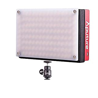 Aputure Amaran AL-MX LED Kamera Licht Adjustable Color Temperature 2800K-6500K Metal Designed Pocket-Sized Licht Foto Video Built in Battery