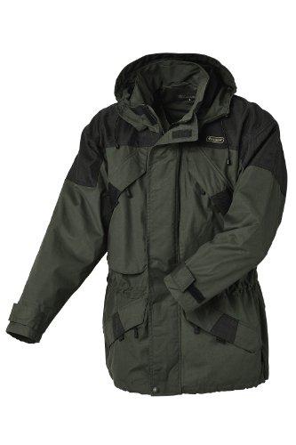 Pinewood Unisex Funktionsjacke Lappland Extrem, dunkelgrün/schwarz, S, 9093
