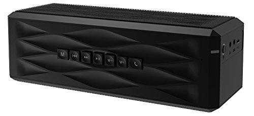 SHARKK® Boombox Bluetooth Lautsprecher Tragbarer Stereo-Lautsprecher mit 18+ Stunden Spielzeit. 10W-Lautsprecher für iPhone, iPad, Samsung und mehr - 3