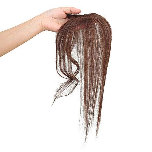 RemeeHi Haartopper zum Anklipsen, mit gewellten Bügeln, 3D-Effekt, natürliche Mittelpartie - Crown Hair Extensions