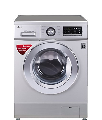 LG 6.5 kg Fully-Automatic Front Loading Washing Machine (FH0G6WDNL42, Luxury...