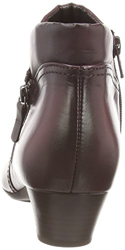 Gabor - Emilia, Stivali da donna Rosso (dark Red Leather)