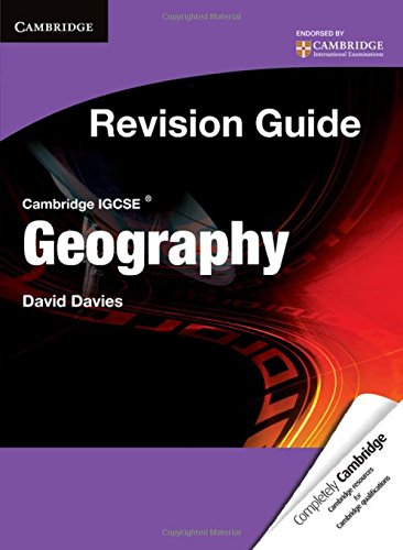 Cambridge IGCSE geography. Revision guide. Student's book. Con espansione online. Per le Scuole superiori