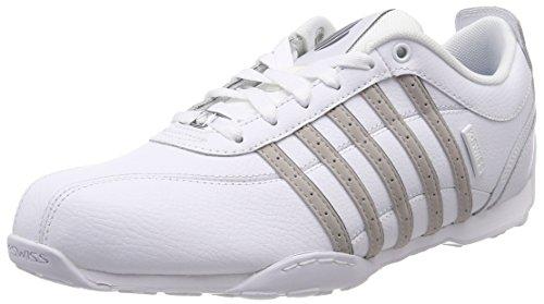 K-Swiss Herren Arvee 1.5 Sneaker, Weiß (White/Silver Cloud/Charcoal), 42 EU