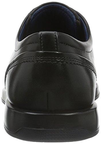 Ecco Jared, Derby Chaussures À Lacets Pour Homme Noir (noir)