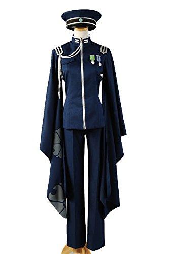 Vocaloid Senbon Sakuras or Senbon Zakura Kaito Cosplay Kostüm Herren (Kaito Von Vocaloid Kostüm)