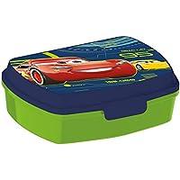 "Joytoy ""Cars 3"" Sandwich Box, Ceramic, Blue/Green, 8 x 12 x 16 cm"