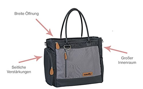 Babymoov Damen Wickeltasche Essential, smokey, A043552 - 2