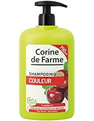 Corine de Farme Shampooing Couleur Cranberries Cheveux Colorés