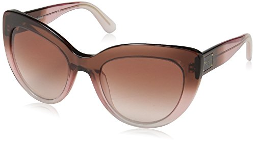 Dolce & Gabbana Damen 0DG4287 306013 53 Sonnenbrille, Bordeaux Grad/Pink/Powder/Browngradient