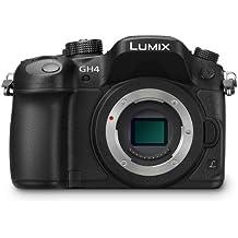"Panasonic Lumix GH4 - Cámara compacta de 17.2 Mp (pantalla 3"", grabación de vídeo), negro - solo cuerpo (importado)"