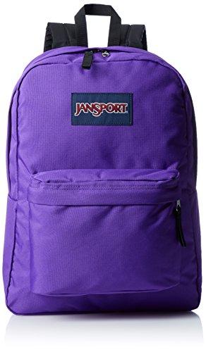 JANSPORT Superbreak Backpack Signature Purple Schoo bag JS00T50131D Jansport Bags (Frauen Jansport Rucksack)