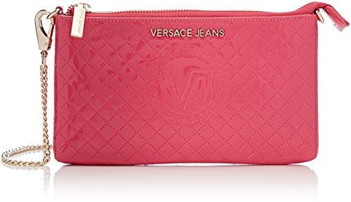 Versace Jeans Damen Ee3vrbpm3_e70045 portemonnaie, Pink (Fuxia E401), 1x13.5x22.5 cm