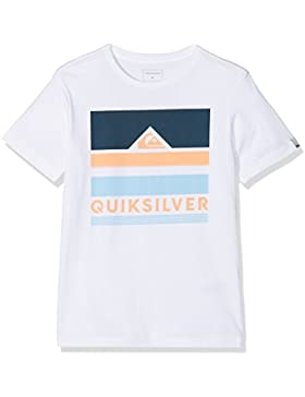 Quiksilver Classic Loud Places Camiseta, Niños, Blanco (Bright White-Solid), XL/16