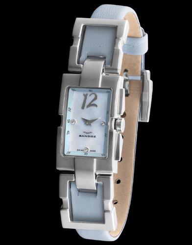 Sandoz 73502-03 - Reloj Col. Diver Unisex Rectángular azul