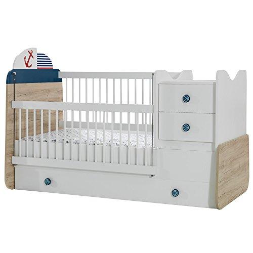 *Mitwachsendes Babybett New Ocean mit Bettkasten*