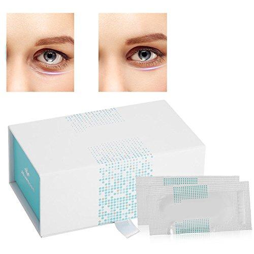 Anti Aging Augencreme mit pflanzlichen Stammzellen, 50 Stück Augen Pflege für normale bis trockene Haut gegen müde Augenringe Schwellungen und Falten für die Beseitigung von Falten Schwarz und Extra F