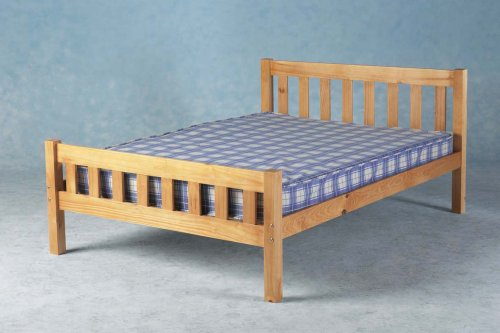 Comfy Living King Size 5ft Wooden Bed Frame Carlow