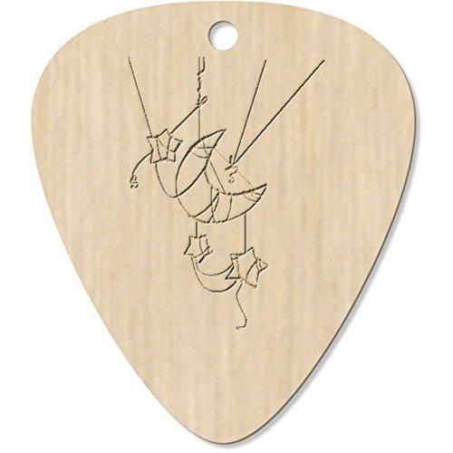 Azeeda 7 x 'Luna y Estrellas' Guitarra Púa (GP00016300)