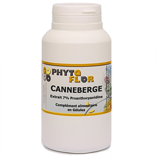 Canneberge extrait Phytaflor 250 mg en gélules. - . : 1 boite de 300 gélules