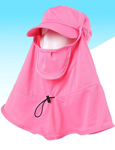Cover The Neck Protection contre UV Sun Hat Ladies Summer Outdoor Sunset Sunscreen Hat Cap ( Couleur : 2 ) 1
