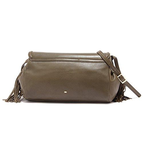Comprar Barato Con Paypal 7860S borsa donna ELISABETTA FRANCHI vintage effect verde tracolla bag woman verde militare Genuina Precio Barato Real n0e6b4YPe
