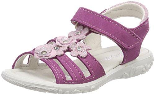 RICOSTA Mädchen Chica Offene Sandalen, Pink (Candy), 28 EU