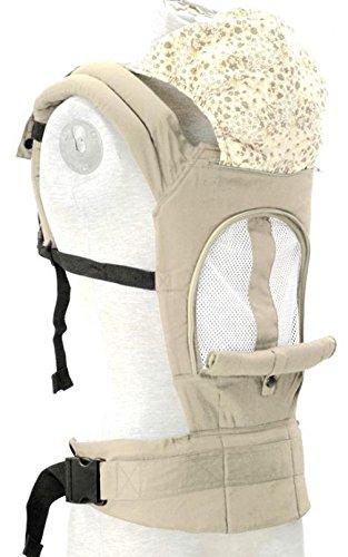 ZYT Atmungsaktives Mesh Baumwollgewebe entwickelt Tasche Rucksack Baby Babyartikel Khaki