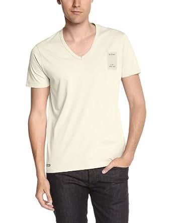G-star - T-Shirt - Homme - Blanc (Milk) - M