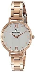 Daniel Klein Analog Silver Dial Women's Watch - DK11576-3