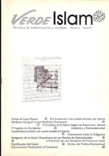 Verde Islam. Revista de Información y Análisis Nº 1