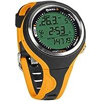 Mares Smart Apnea - Ordenador de Buceo, Color Negro/Naranja, Talla única