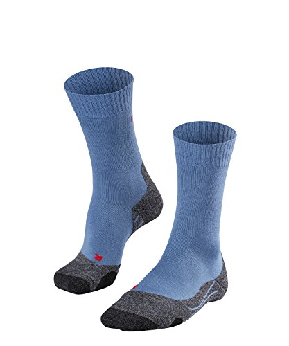 Falke TK2 16474 Chaussettes Homme, Iron Blue, FR : L (Taille Fabricant : 44-45)