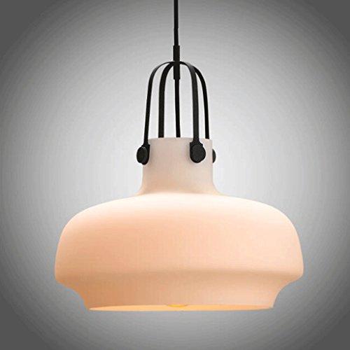 lustre GAODUZI Lampe Personnalité Unique Tête Verre Abat-Jour Vêtements Bar Restaurant Bar Fumée Combinaison Lumières Vêtements Boutique Bar Restaurant Bar (Taille : 180 * 120mm)