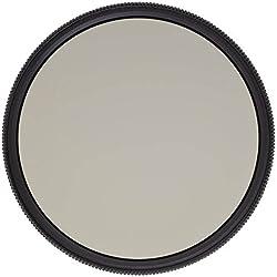 Heliopan 580381077 - Filtro polarizador (circular, Slim, SH-PMC, 77 mm), negro