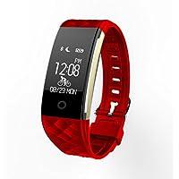Fitness Tracker con cardiofrequenzimetro S2 Smart Band frequenza cardiaca Monitor