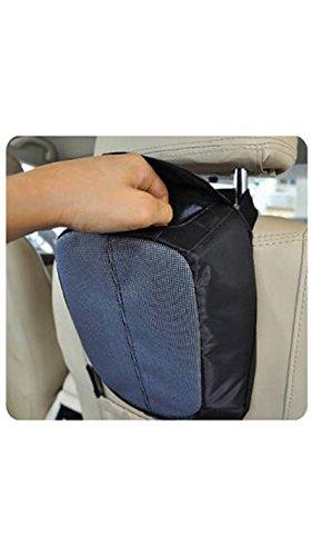 Premium Car Trash Bin - In Car Storage Essentials - Genome Executive Series - Car Utility - Car Accessories