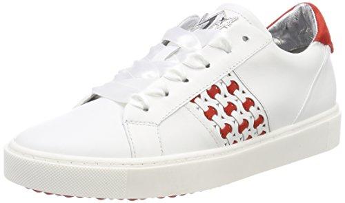 Maripe Damen 26422 Sneaker, Weiß (Agnelotto Bianco), 38 EU
