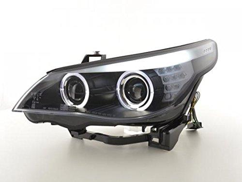 FK-Automotive phare Angel Eyes LED Xenon , Noir RHD