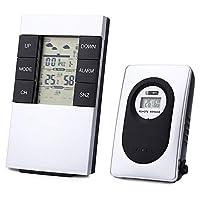 Proprietà del prodottoTipo:Termometri domesticiNumero modello:Termometro esterno internoTipo di termometro:DigitaleTipo di prodotto:TermometriMateriale: Plastica