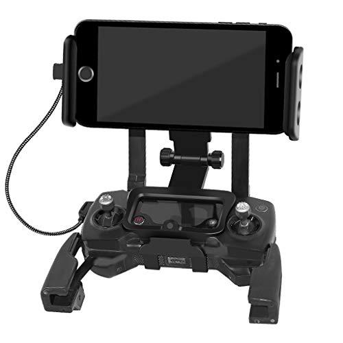 ❤jieGREAT❤ Quadcopter Fernbedienung Drone Ersatzteile,Tablet Phone Metal Holder Fernbedienung Halterung für DJI Mavic 2 Pro Zoom Drone (Ist Tab Metal Halloween Dies)