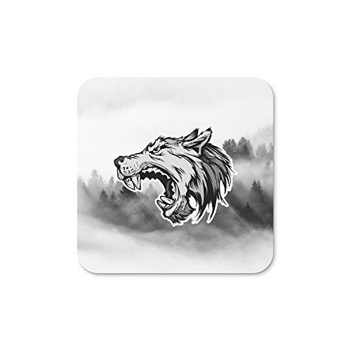 Angry Wolf Mini Kühlschrank Magnet–5cm–Hund Husky Wild Animal Geschenk # 4259